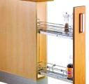 Kitchen Cabinet Accessory : Multifunction 3 Layers Pull Out Basket