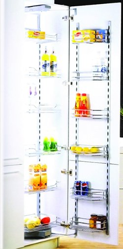 Kitchen Cabinet Accessory : Tall Lader Multi basket