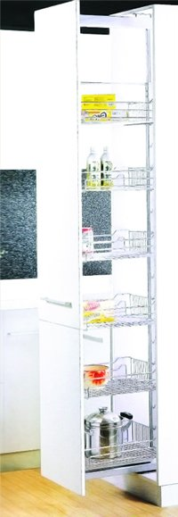 Kitchen Cabinet Accessory : Tall Lader 5 Basket
