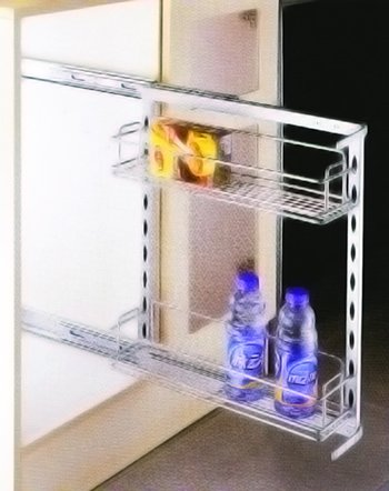 Kitchen Cabinet Accessory : Side Pull Out Basket
