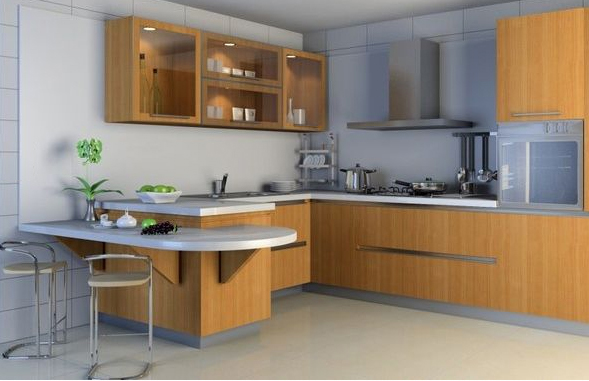 In space decor kitchan cainet designer for Kitchen decoration malaysia